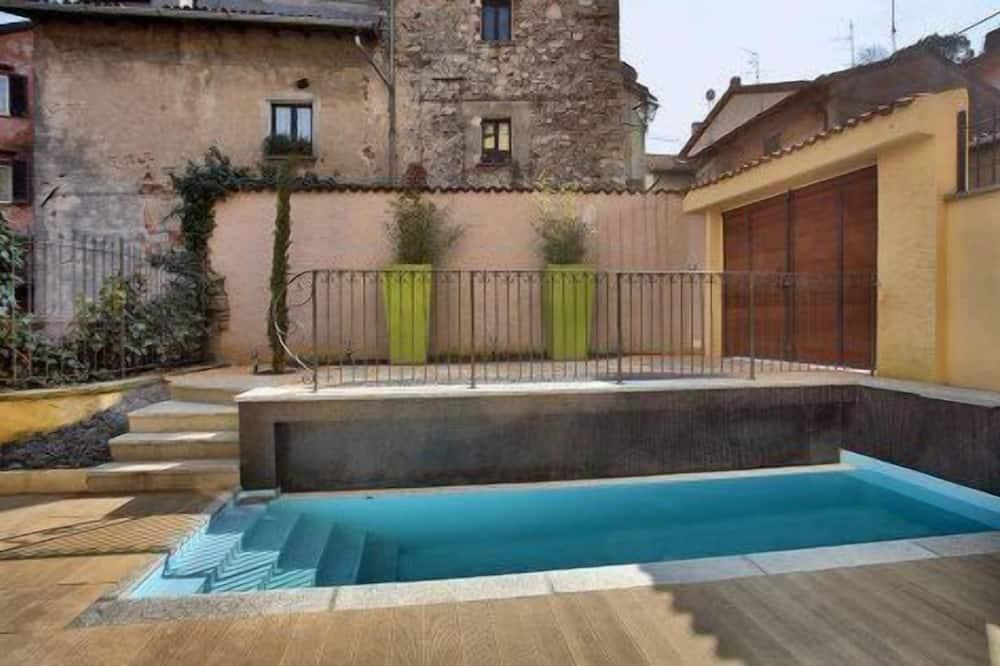 Exclusive-Apartment, 2Schlafzimmer, eigener Pool (Bianco e Nero) - Privatpool