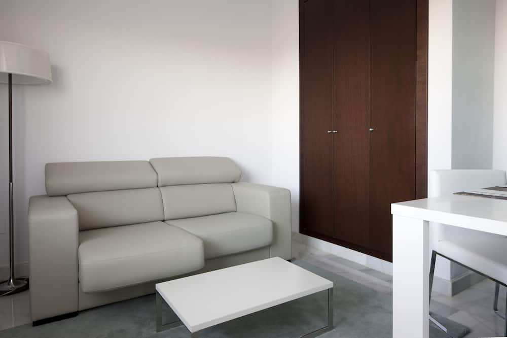 豪華頂樓客房, 1 張標準雙人床, 露台 - 客廳