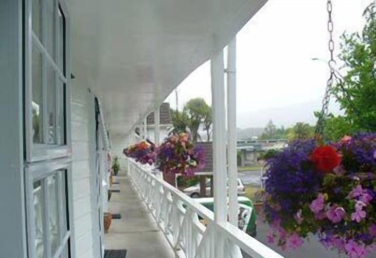 Ashleigh Court Motel, Rotorua, Terasa / vidinis kiemas