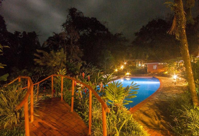 Finca Luna Nueva Lodge, Peñas Blancas, Venkovní bazén