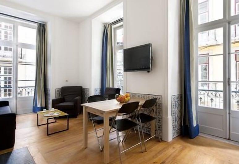 Living Lisboa Baixa Apartments, Lisbonne, One Bedroom Apartment for 3 people, Chambre