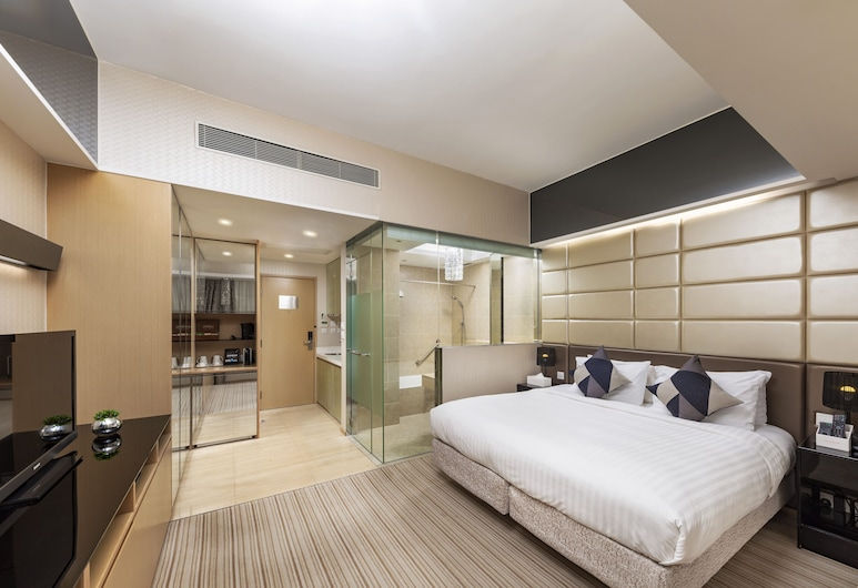 The Mercer, Hong Kong, Studio Premier, Guest Room
