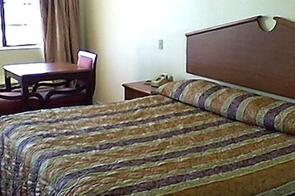 Nesmēķētāju numurs ar vienu īpaši lielu divvietīgu gultu - Dzīvojamā zona