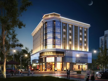 Foto van Guangzhou City Join Hotel Shipai Qiao Branch in Guangzhou (Kanton)