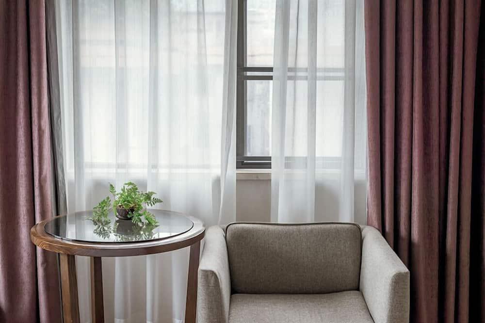 Двухместный номер «Делюкс» с 2 односпальными кроватями, 2 односпальные кровати - Гостиная