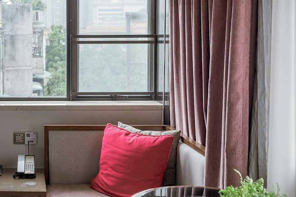 Двухместный номер «Делюкс» с 2 односпальными кроватями, 2 односпальные кровати - Зона гостиной