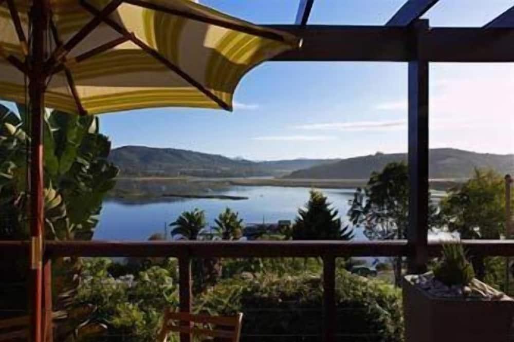 Chalet, 2 slaapkamers - Uitzicht vanaf balkon