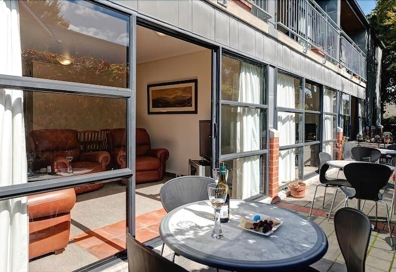 Country Glen Lodge, Christchurch, Terassi/patio