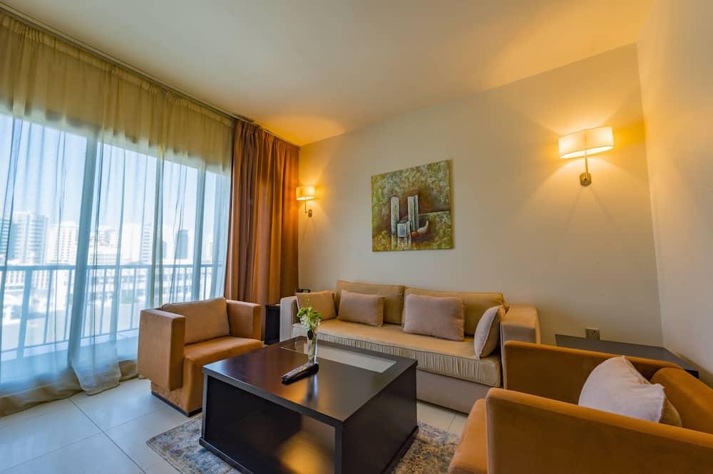 דירת אקזקיוטיב, 2 חדרי שינה - סלון