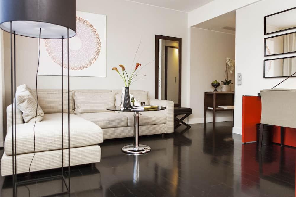 Suite junior - Sala de estar