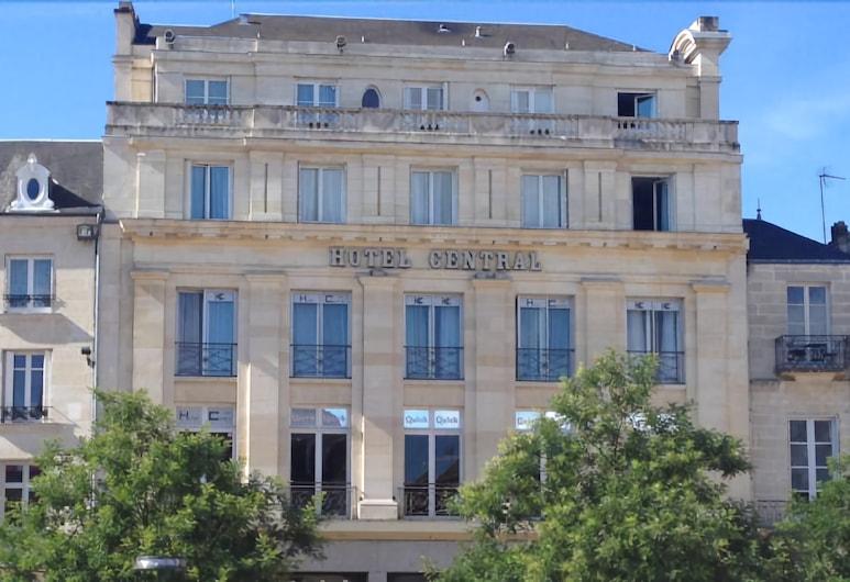 Hotel Central, Poitiers, Facciata hotel