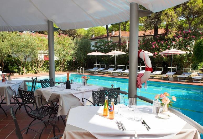 Hotel President, Lignano Sabbiadoro, Poolbar