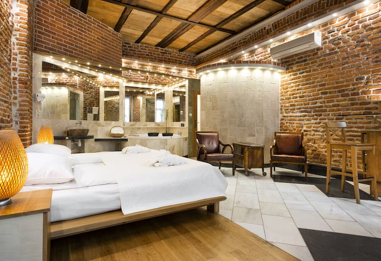 Aparthotel Stare Miasto, Krakow, Suite – executive, 1 kingsize-seng, Rom