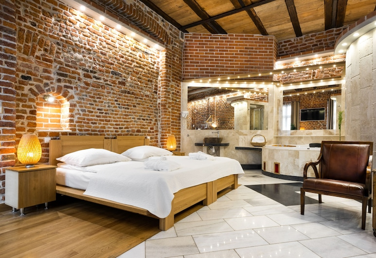 Aparthotel Stare Miasto, Kraków, Svit Executive - 1 kingsize-säng, Rum