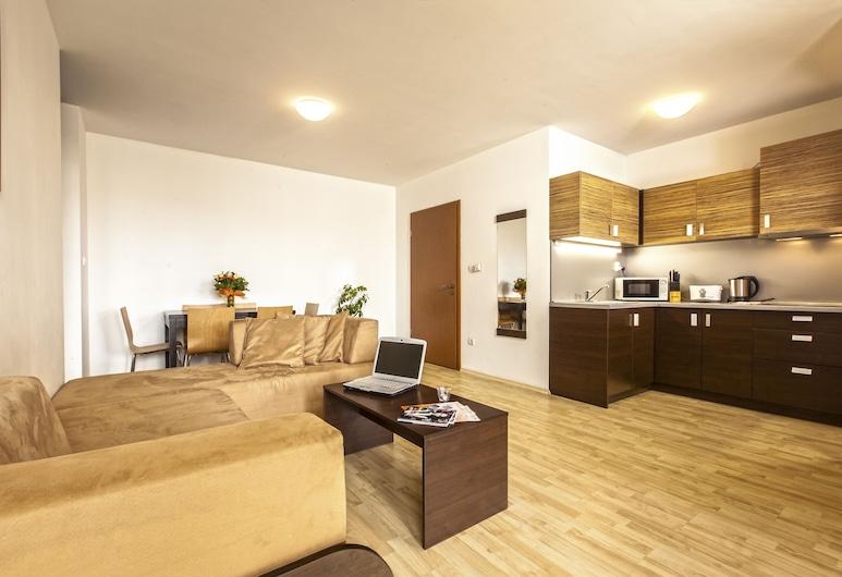 Prater Residence, Budapešť, Apartmán, 2 spálne, Obývačka