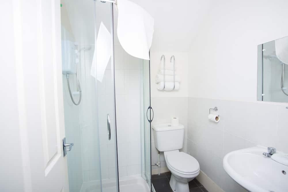 Zweibettzimmer, mit Bad - Badezimmer