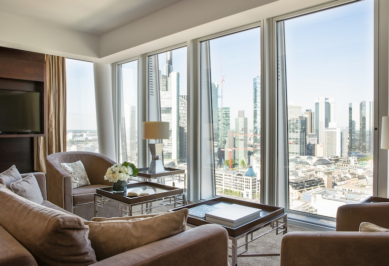 Jumeirah Frankfurt, Frankfurt nad Mohanem, Presidential Suite, Obývací prostor