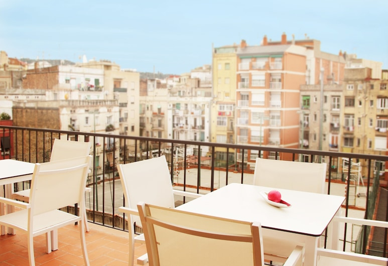 MH Apartments Center, Barcelona, Grand Apartment, 3 Bedrooms, Balcony