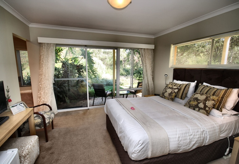 Margaret River Bed and Breakfast, Margaret River, Luxury-Zimmer, 1 Queen-Bett, Gartenblick (Redgate), Zimmer