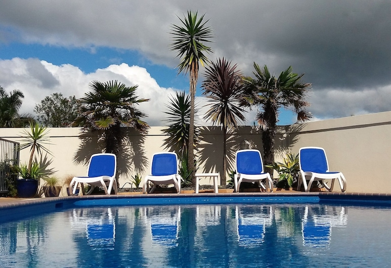 Bay Palm Motel, Mount Maunganui, Outdoor Pool