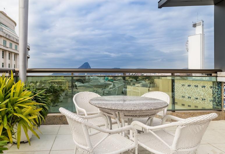 Hotel Atlantico Business Centro, ריו דה ז'ניירו, מרפסת/פטיו