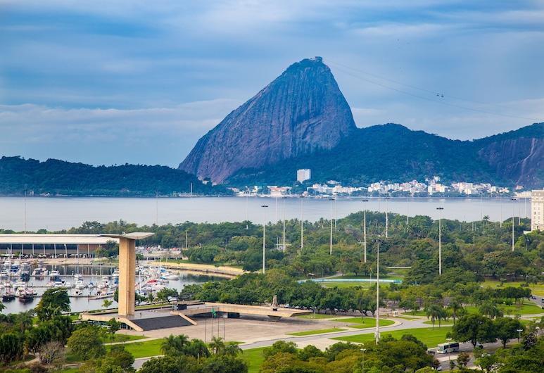 Hotel Atlantico Business Centro, Rio de Janeiro, Výhľad na pláž/oceán