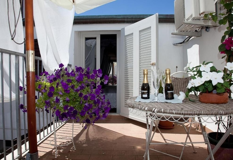La Petite Maison, Viareggio, Suite junior, terraza, Terraza o patio
