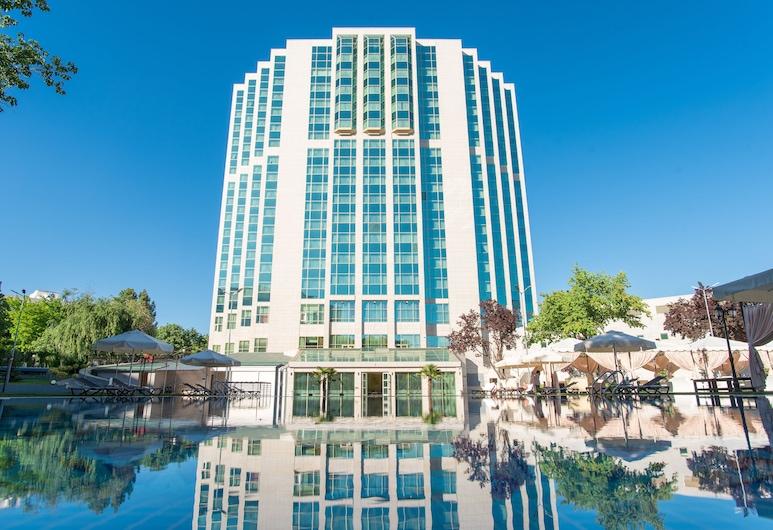City Palace Hotel, Tashkent, Hótelframhlið