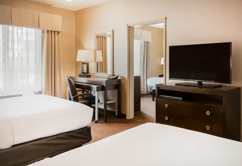Holiday Inn Express Hotel & Suites Missoula, Missoula, Apartmán typu Executive, viacero postelí, nefajčiarska izba, Hosťovská izba
