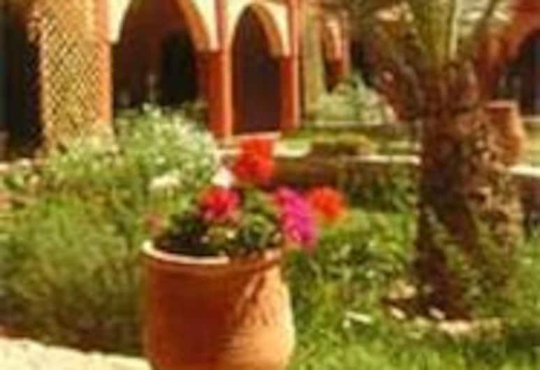 Kasbah Zitoune, תרמיכת, שטחי הנכס