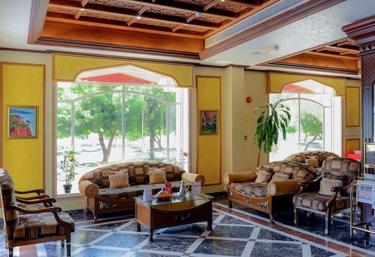 OYO 103 Hotel Golden Oasis, Maskat, Sitzecke in der Lobby