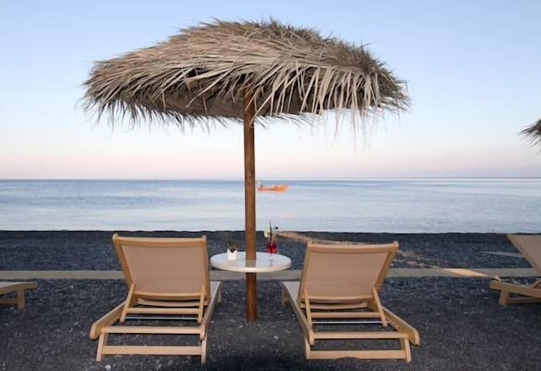Makris Beach Hotel, Santorini, Beach