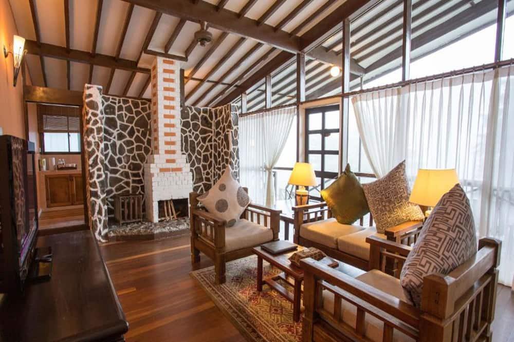 Peak Lodge - Living Area