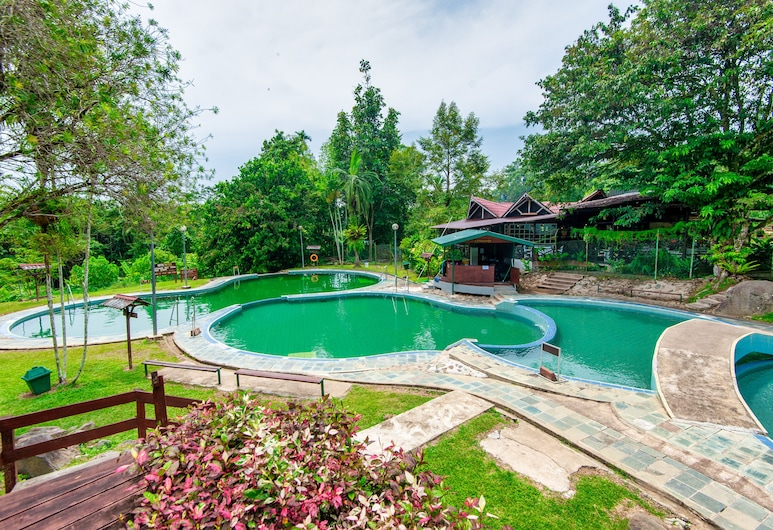 Sutera Sanctuary Lodges at Poring Hot Springs, Ranau, Āra baseins