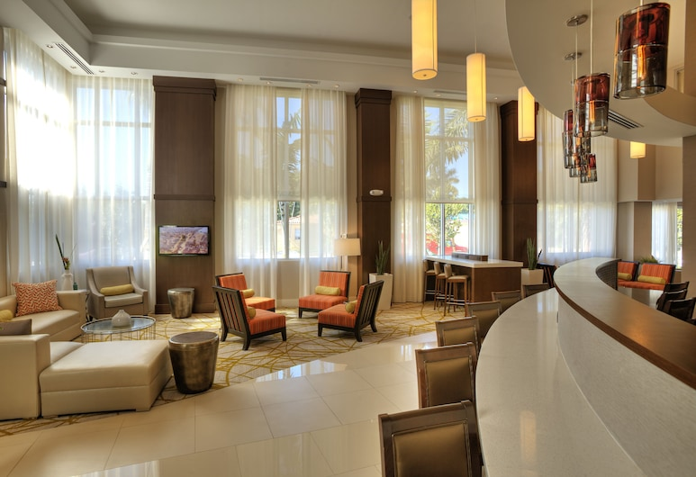 Comfort Suites Miami Airport North, Miami Springs, Salonek ve vstupní hale