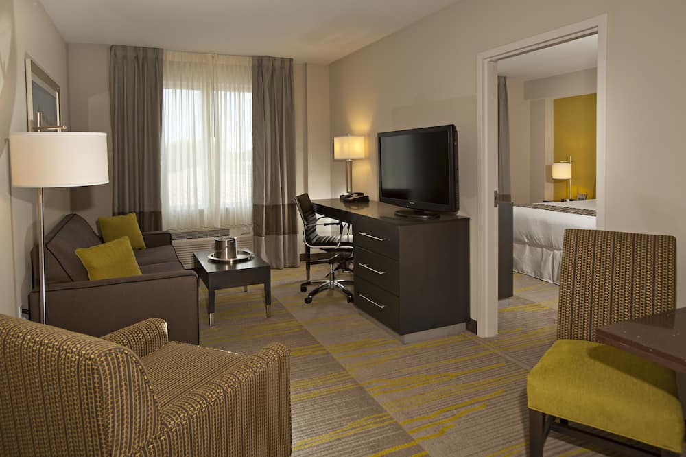 Suite, 1 King Bed with Sofa bed, Non Smoking (1 Person Sofa Bed) - Living Room