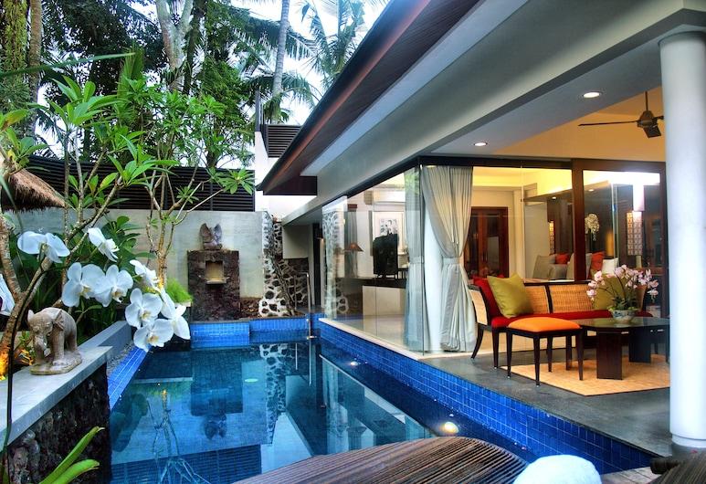 Royal Kamuela Villas & Suites at Monkey  Forest, Ubud, Ubud, Villa, 1 Bedroom, Private Pool, Living Area