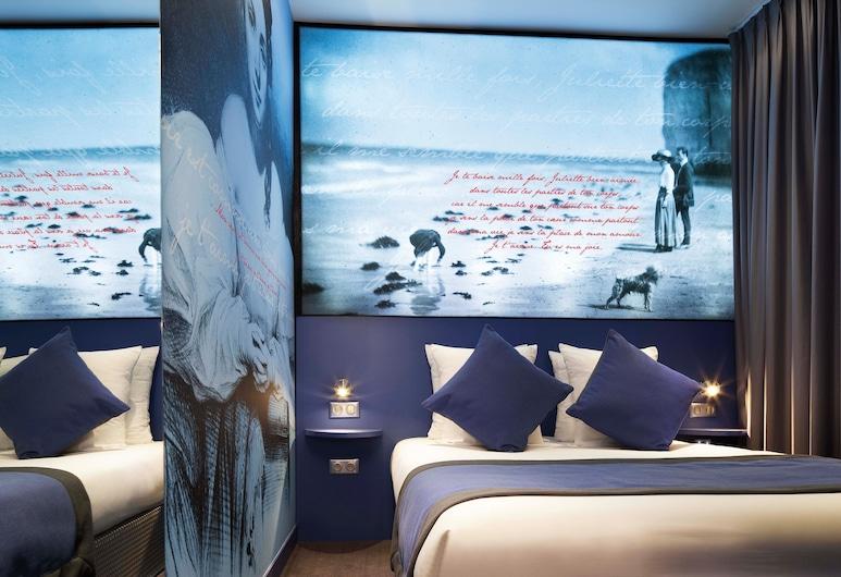 호텔 몽마르트르 모나무르, 파리, 디럭스 더블룸, 객실