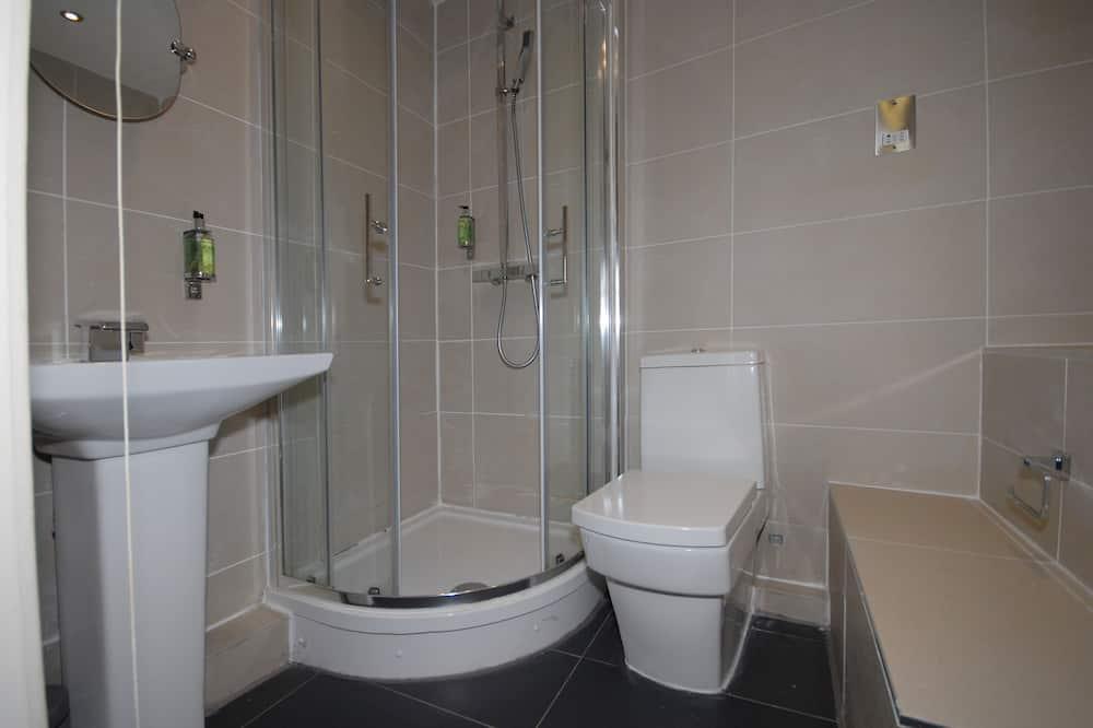 Cottage, salle de bains attenante, vue jardin (with Bath) - Salle de bain