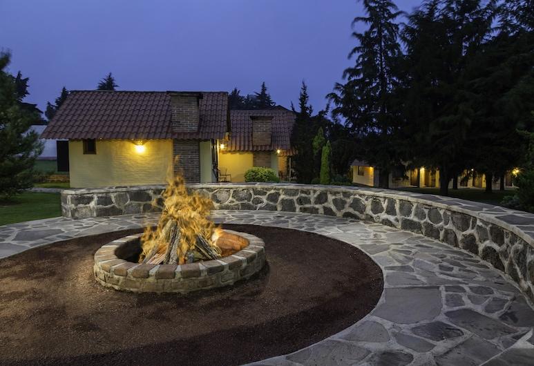 Cabañas Sierra Mazamitla, Mazamitla, Porch
