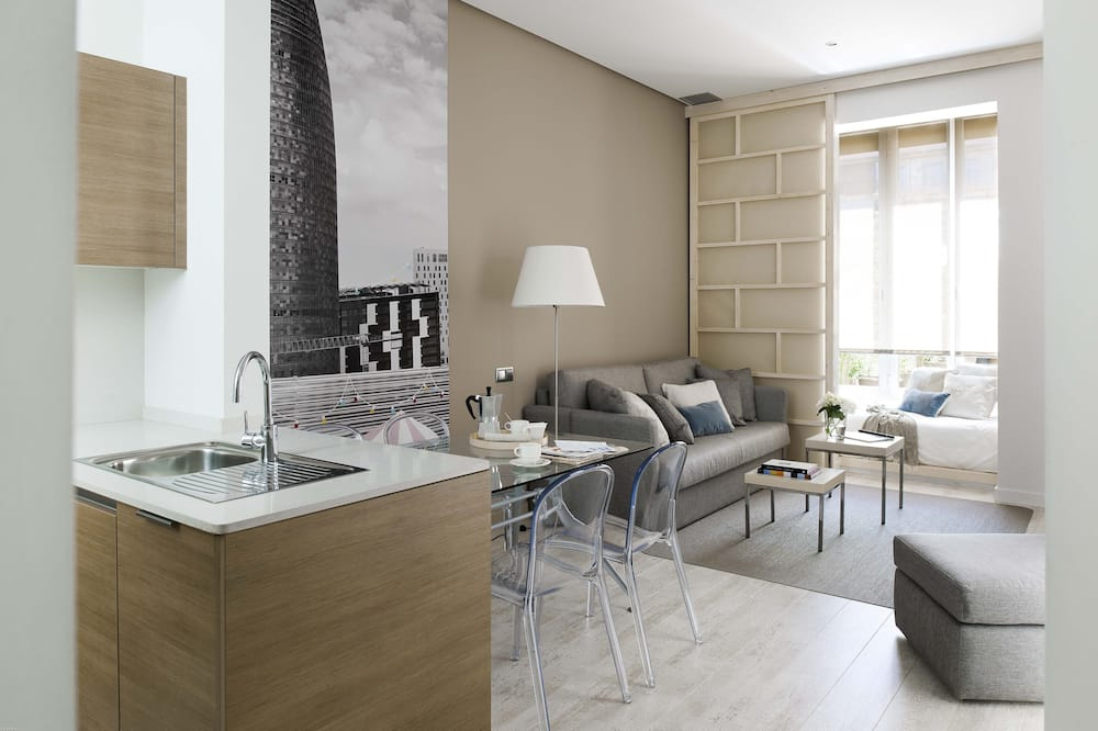 Apartment, 1 Bedroom (2 people) - Living Area