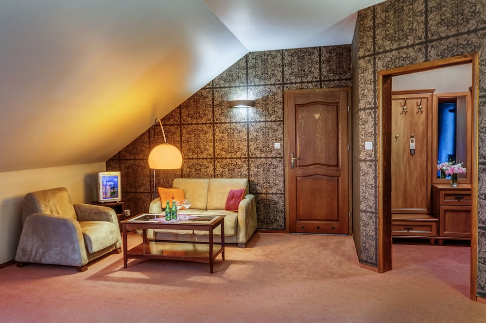 Deluxe-Suite (For 1 person) - Wohnzimmer