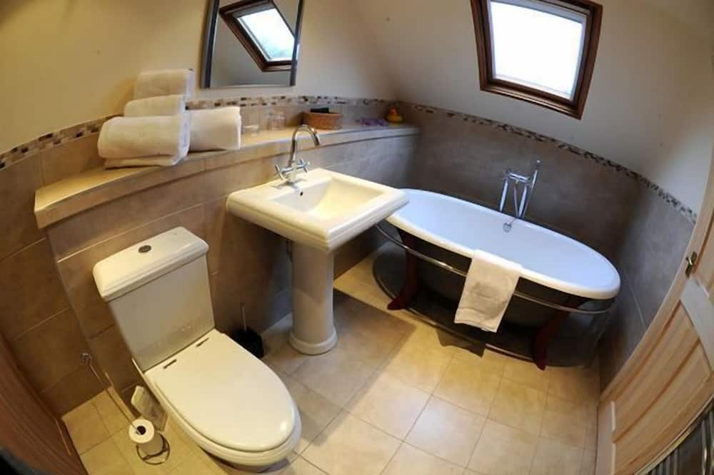 Hut-Deluxe-Ensuite with Shower-Garden View - バスルーム
