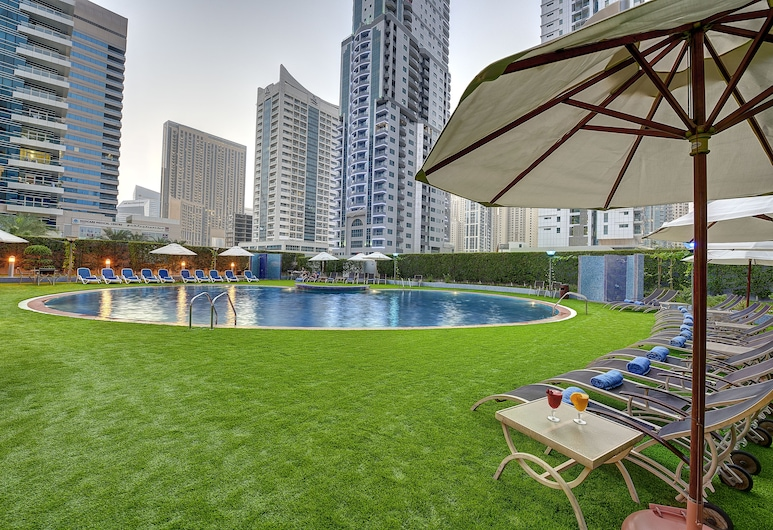 Marina View Hotel Apartments, Dubajus, Baseinas