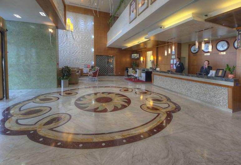 Marina View Hotel Apartments, Dubai, Reception