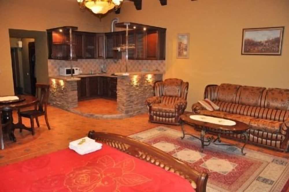 Studio Superior, Bếp - Khu phòng khách