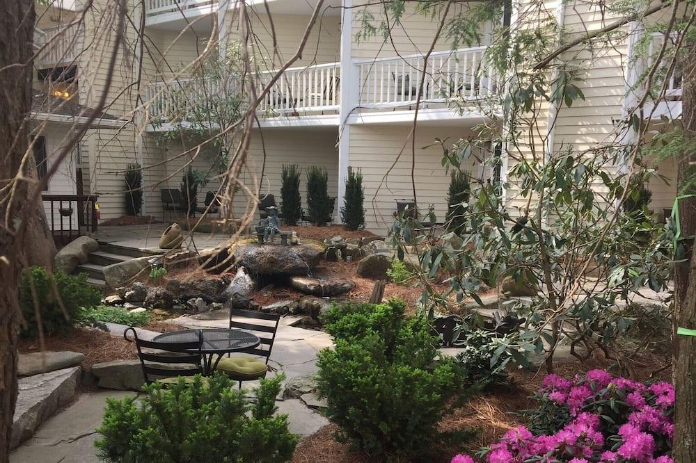 Tomannsrom – classic, flere senger - Terrasse/veranda
