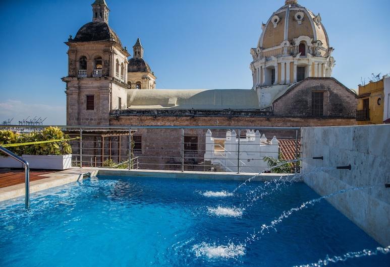 Casa Claver Loft Boutique Hotel, Cartagena, Piscina al aire libre