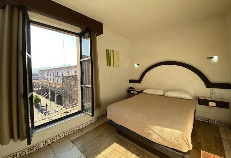 Hotel Plaza Morelia, Morelija, Standartinio tipo vienvietis kambarys, 1 standartinė dvigulė lova, Svečių kambarys