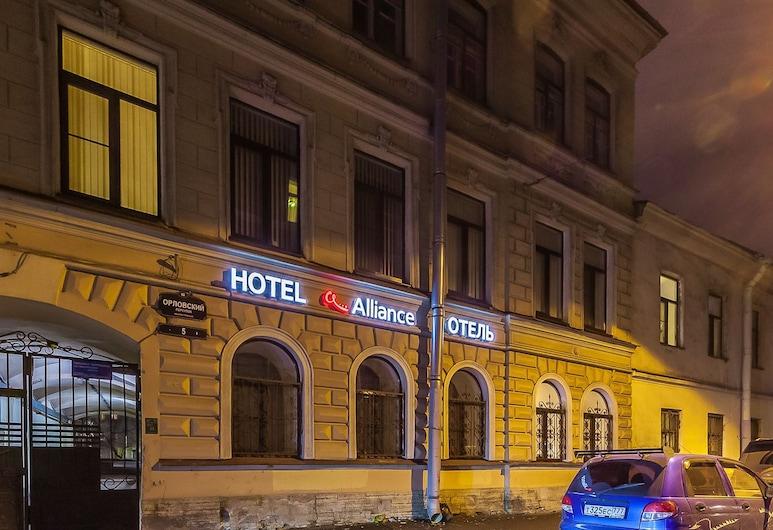 Alliance Hotel, סנט פטרסבורג, חזית המלון - ערב/לילה